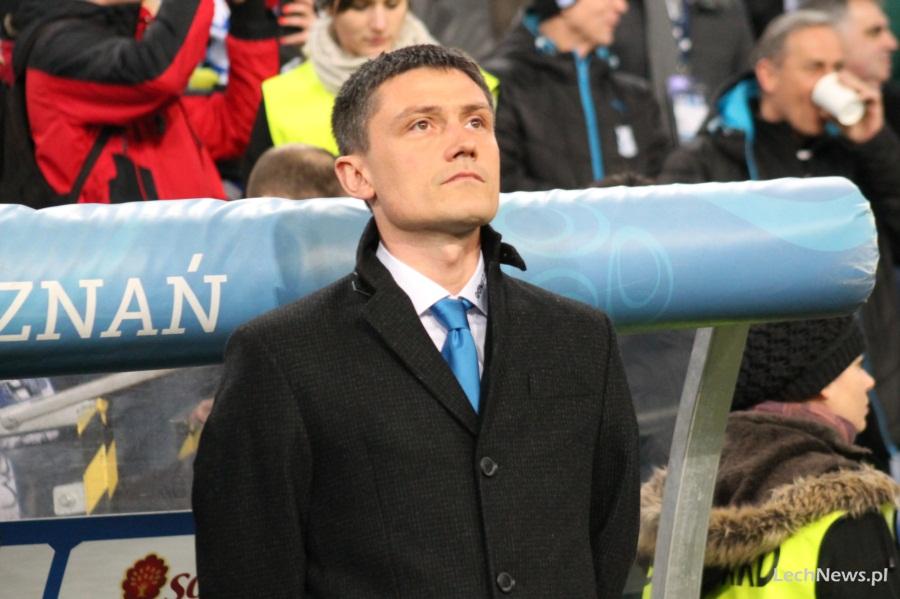 Trener Rumak: Musimy odpowiadać boiskiem