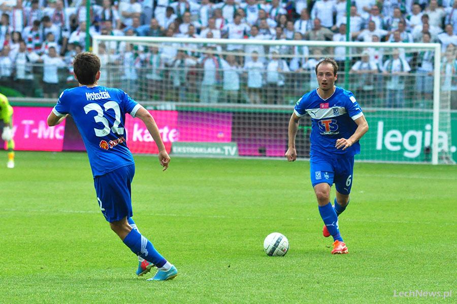 Legia — Lech: Przeciętny i przegrany mecz. Mistrz powróci