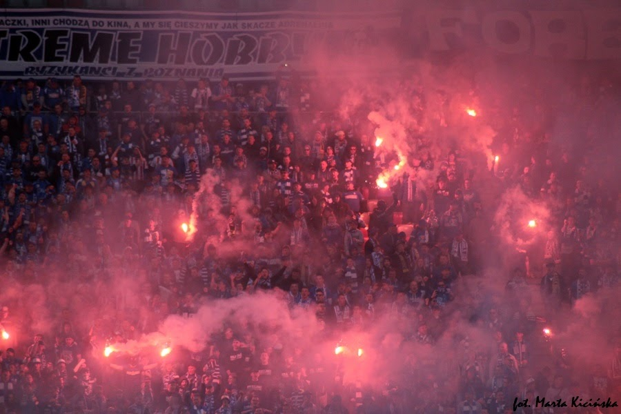 Kibice na finale Pucharu Polski