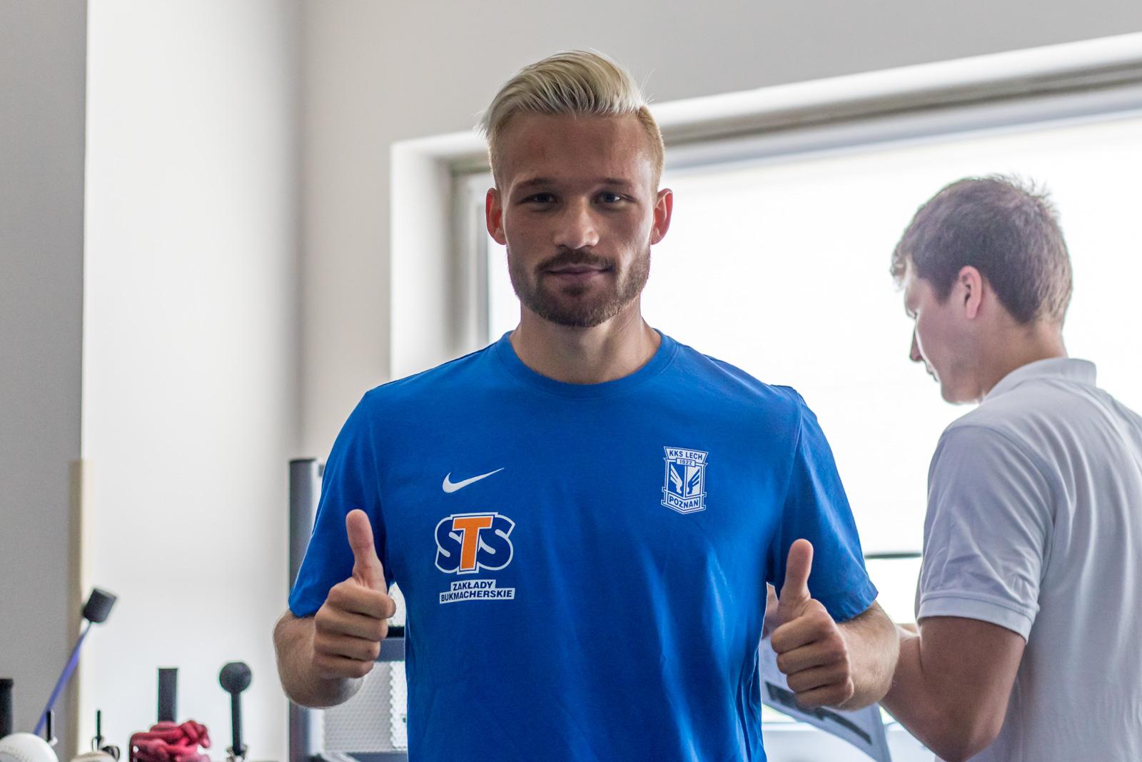 Nicklas Bärkroth nowym graczem Poznańskiej Lokomotywy