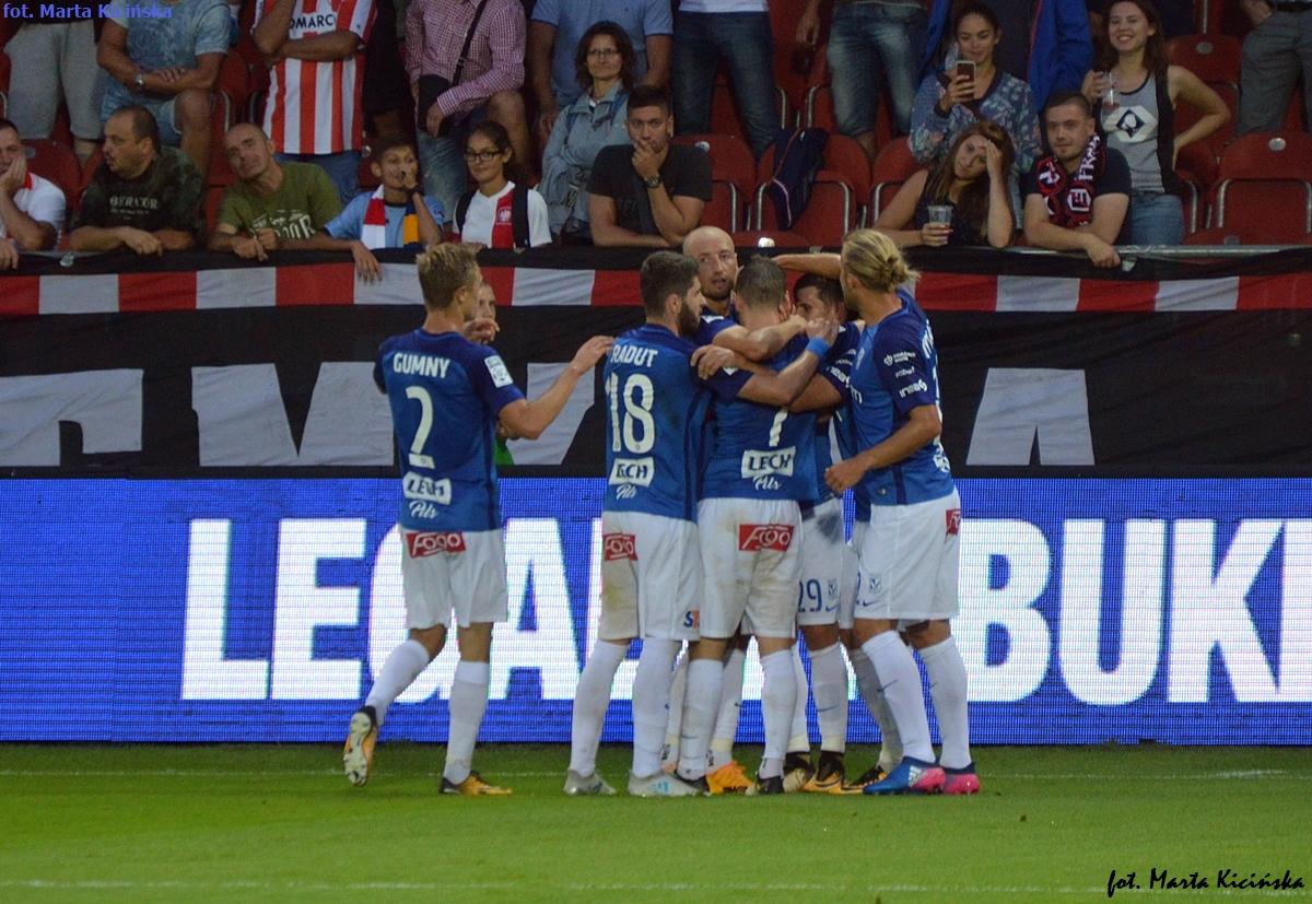Lech — Cracovia: 3 punkty dla Kolejorza w meczu przyjaźni!