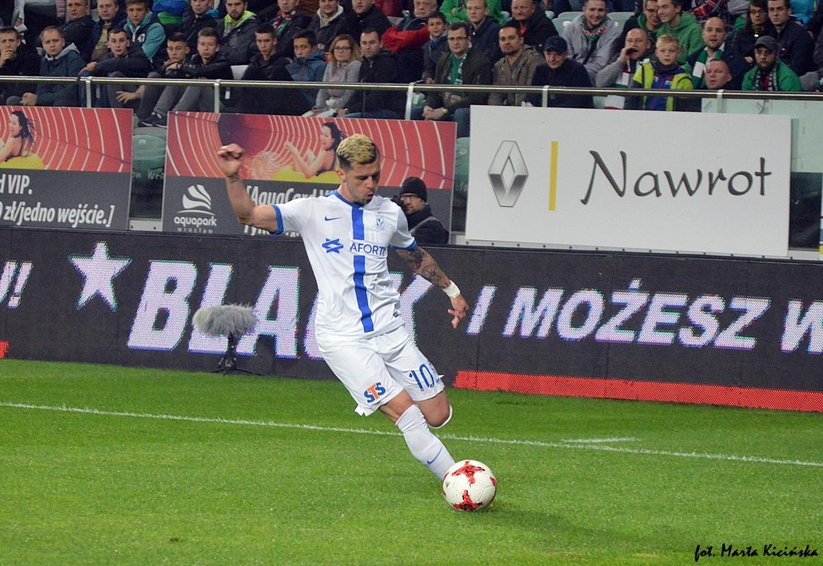 Jevtić: Na meczach z Legią zawsze jest inna atmosfera