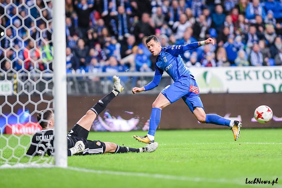 Lech — Cracovia: Cieszą 3 punkty oraz dobra gra Kolejorza