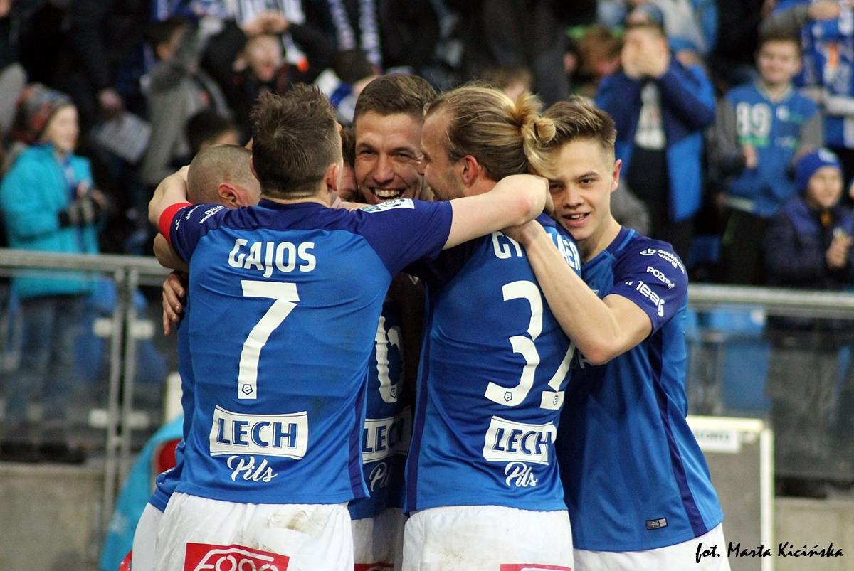 Lech — Lechia: Pewne zwycięstwo 3:0 i Kolejorz nadal niepokonany wdomu!