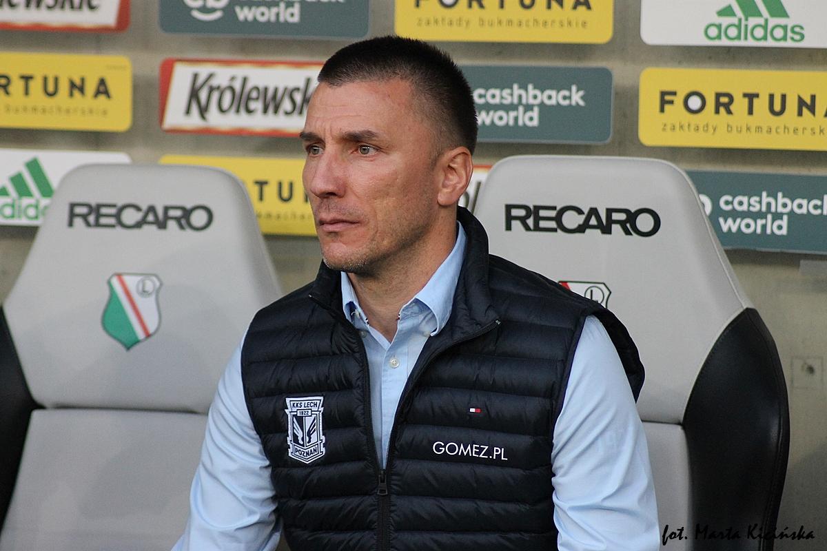 Ivan Djurdjević nie jest już trenerem Lecha