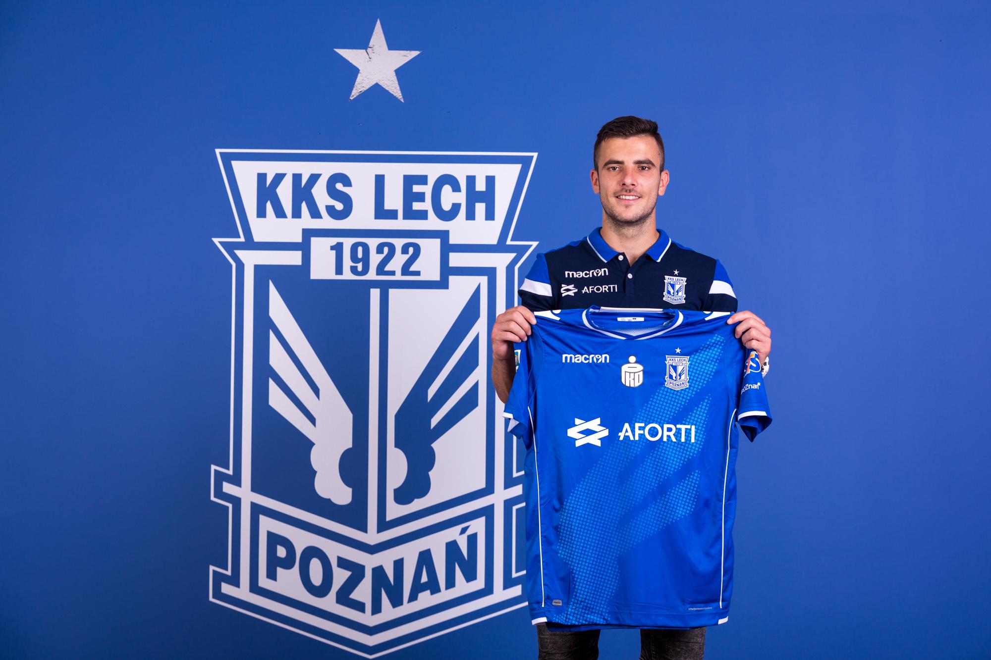 Djordje Crnomarković piłkarzem Lecha