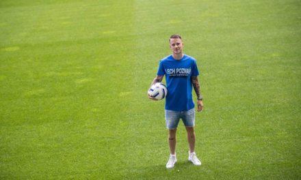 Jan Sykora oficjalnie piłkarzem Lecha Poznań