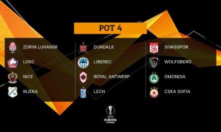 Losowanie fazy grupowej Ligi Europy — Transmisja